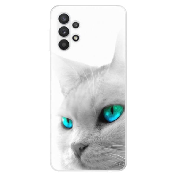 Odolné silikonové pouzdro iSaprio - Cats Eyes - Samsung Galaxy A32 5G
