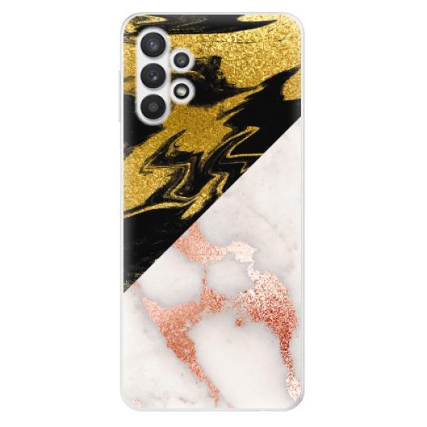 Odolné silikonové pouzdro iSaprio - Shining Marble - Samsung Galaxy A32 5G
