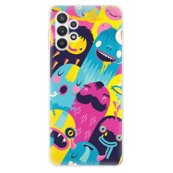 Odolné silikonové pouzdro iSaprio - Monsters - Samsung Galaxy A32 5G