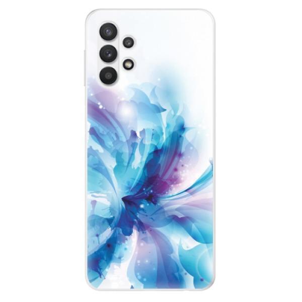 Odolné silikonové pouzdro iSaprio - Abstract Flower - Samsung Galaxy A32 5G
