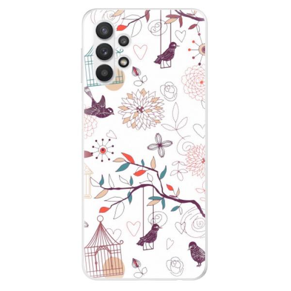 Odolné silikonové pouzdro iSaprio - Birds - Samsung Galaxy A32 5G