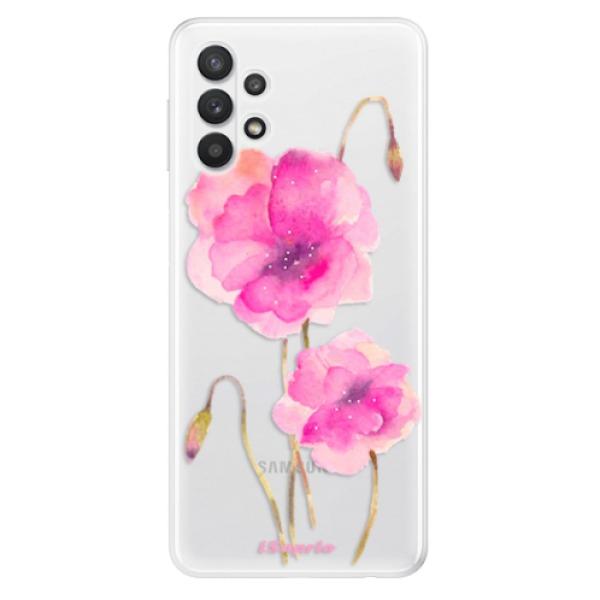 Odolné silikonové pouzdro iSaprio - Poppies 02 - Samsung Galaxy A32 5G