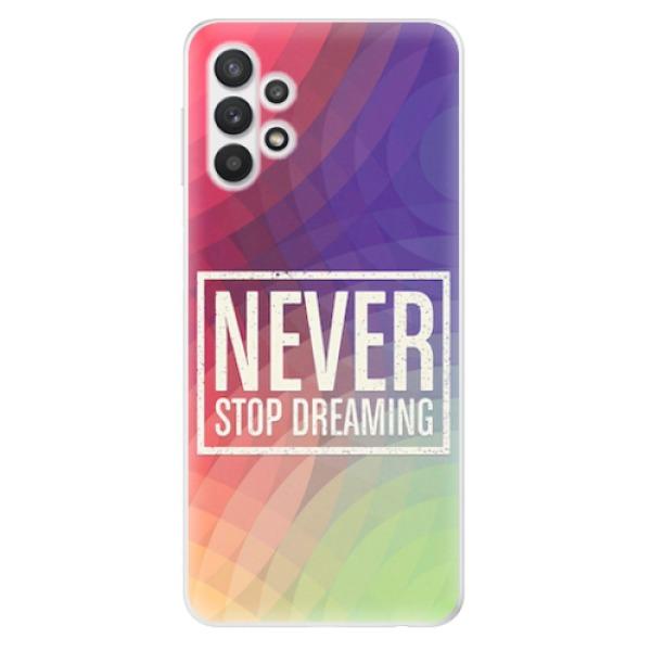 Odolné silikonové pouzdro iSaprio - Dreaming - Samsung Galaxy A32 5G
