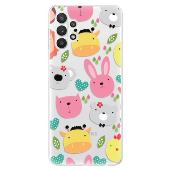 Odolné silikonové pouzdro iSaprio - Animals 01 - Samsung Galaxy A32 5G