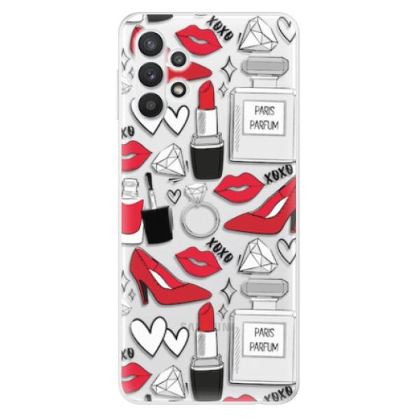 Odolné silikonové pouzdro iSaprio - Fashion pattern 03 - Samsung Galaxy A32 5G