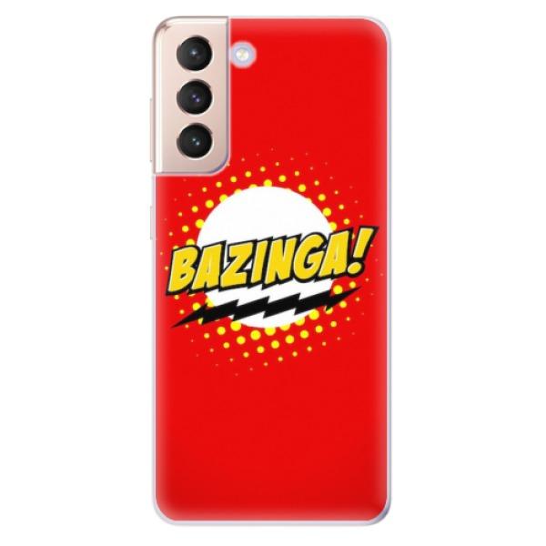 Odolné silikonové pouzdro iSaprio - Bazinga 01 - Samsung Galaxy S21