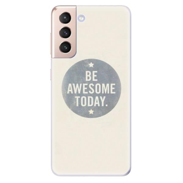 Odolné silikonové pouzdro iSaprio - Awesome 02 - Samsung Galaxy S21
