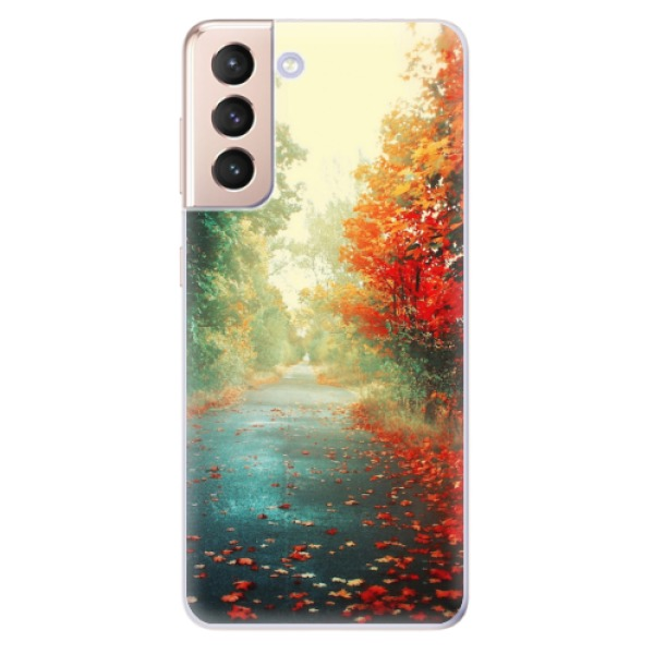 Odolné silikonové pouzdro iSaprio - Autumn 03 - Samsung Galaxy S21