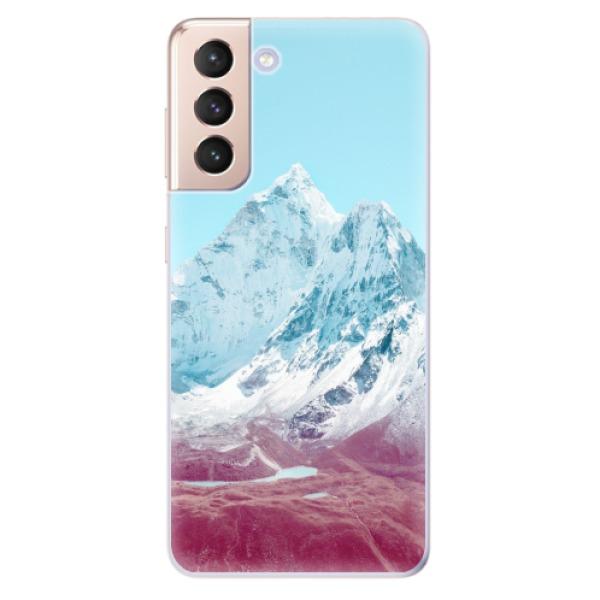Odolné silikonové pouzdro iSaprio - Highest Mountains 01 - Samsung Galaxy S21