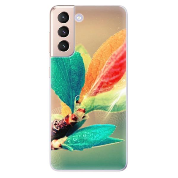 Odolné silikonové pouzdro iSaprio - Autumn 02 - Samsung Galaxy S21
