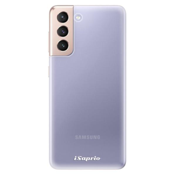Odolné silikonové pouzdro iSaprio - 4Pure - mléčný bez potisku - Samsung Galaxy S21