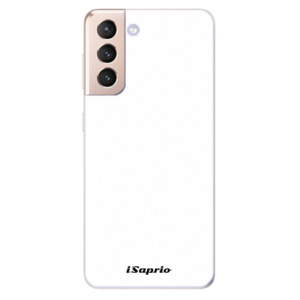 Odolné silikonové pouzdro iSaprio - 4Pure - bílý - Samsung Galaxy S21