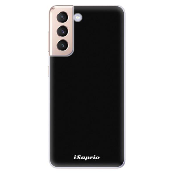 Odolné silikonové pouzdro iSaprio - 4Pure - černý - Samsung Galaxy S21
