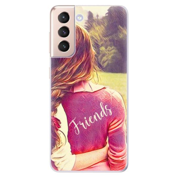 Odolné silikonové pouzdro iSaprio - BF Friends - Samsung Galaxy S21