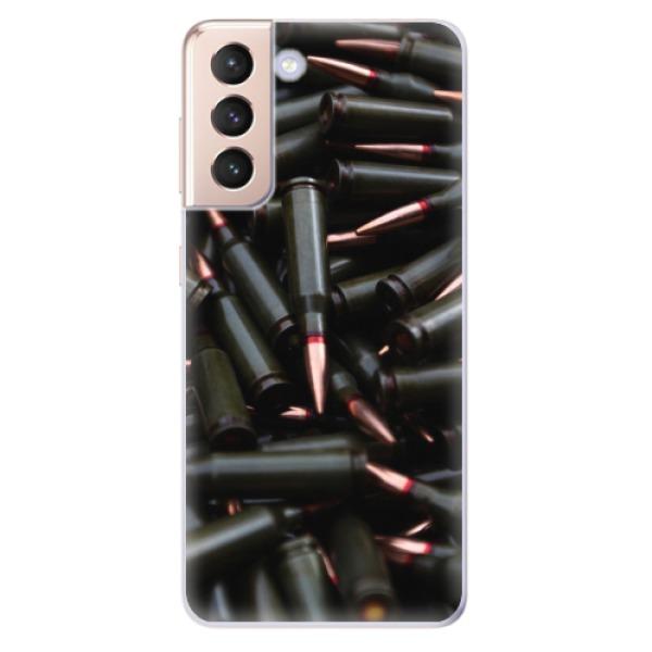 Odolné silikonové pouzdro iSaprio - Black Bullet - Samsung Galaxy S21