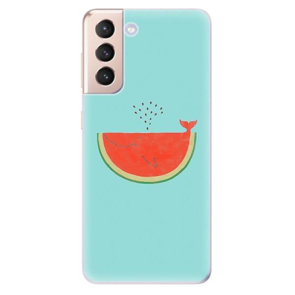 Odolné silikonové pouzdro iSaprio - Melon - Samsung Galaxy S21