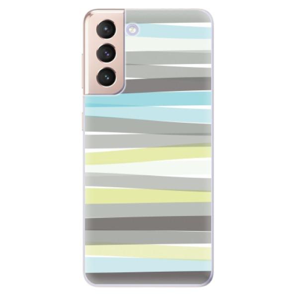Odolné silikonové pouzdro iSaprio - Stripes - Samsung Galaxy S21