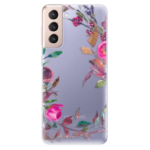 Odolné silikonové pouzdro iSaprio - Herbs 01 - Samsung Galaxy S21