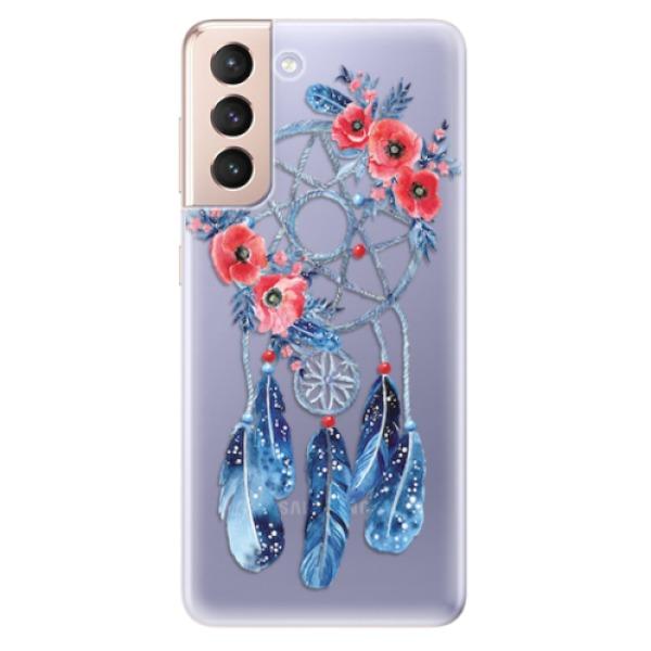 Odolné silikonové pouzdro iSaprio - Dreamcatcher 02 - Samsung Galaxy S21