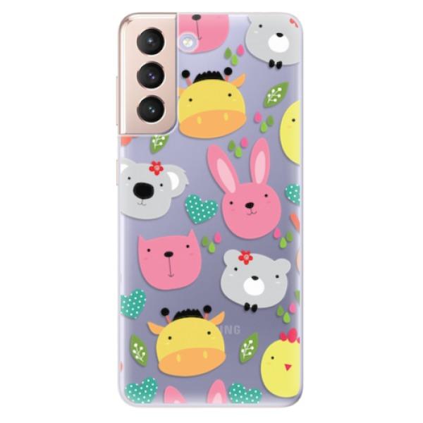 Odolné silikonové pouzdro iSaprio - Animals 01 - Samsung Galaxy S21