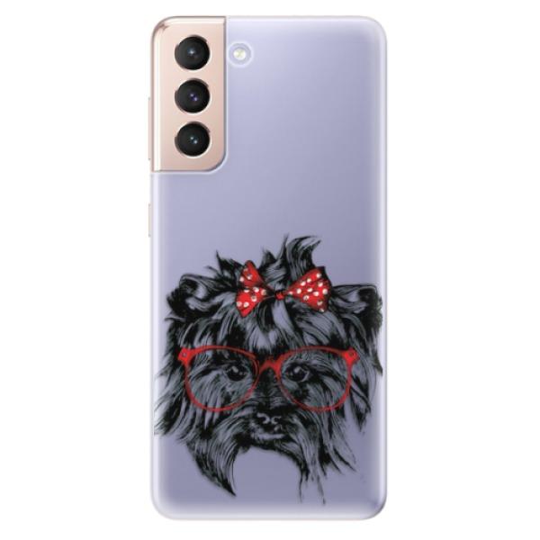 Odolné silikonové pouzdro iSaprio - Dog 03 - Samsung Galaxy S21