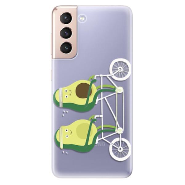 Odolné silikonové pouzdro iSaprio - Avocado - Samsung Galaxy S21