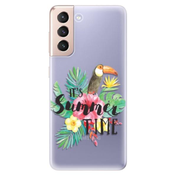 Odolné silikonové pouzdro iSaprio - Summer Time - Samsung Galaxy S21