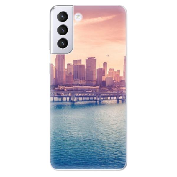 Odolné silikonové pouzdro iSaprio - Morning in a City - Samsung Galaxy S21+