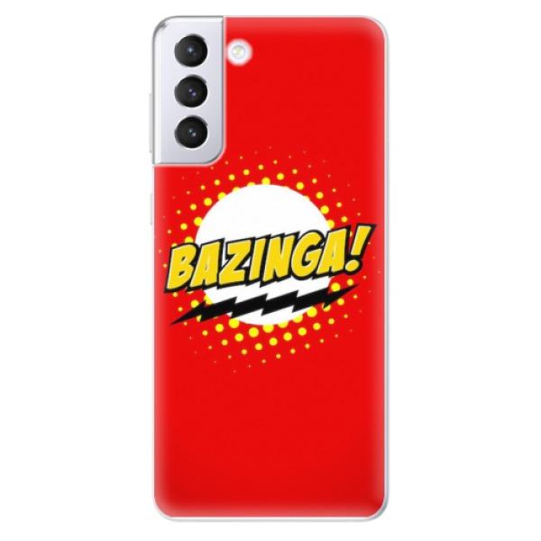 Odolné silikonové pouzdro iSaprio - Bazinga 01 - Samsung Galaxy S21+