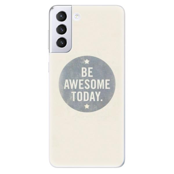 Odolné silikonové pouzdro iSaprio - Awesome 02 - Samsung Galaxy S21+