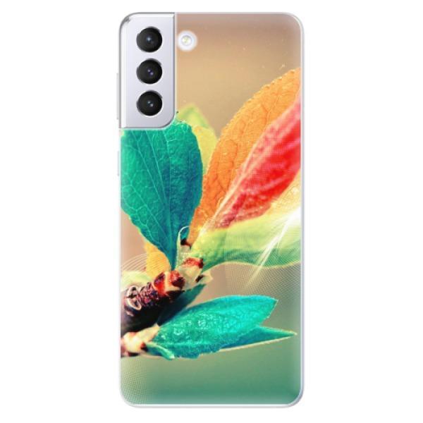 Odolné silikonové pouzdro iSaprio - Autumn 02 - Samsung Galaxy S21+