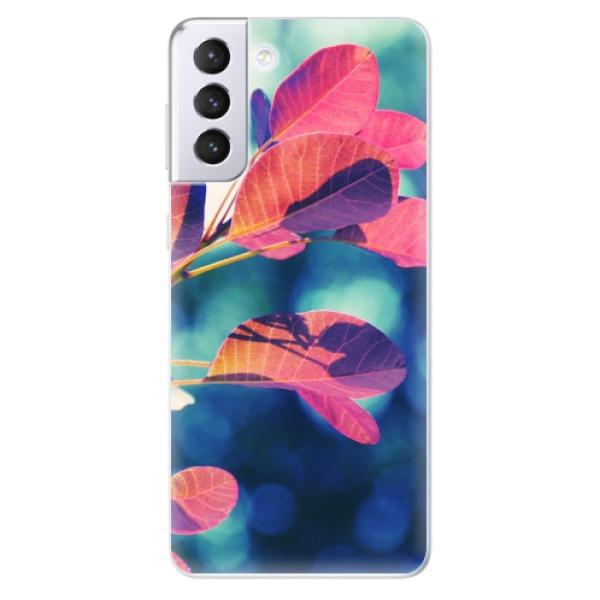 Odolné silikonové pouzdro iSaprio - Autumn 01 - Samsung Galaxy S21+