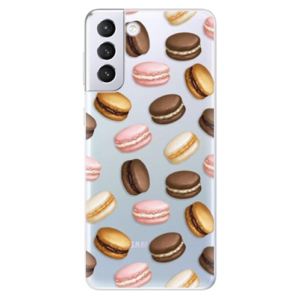 Odolné silikonové pouzdro iSaprio - Macaron Pattern - Samsung Galaxy S21+