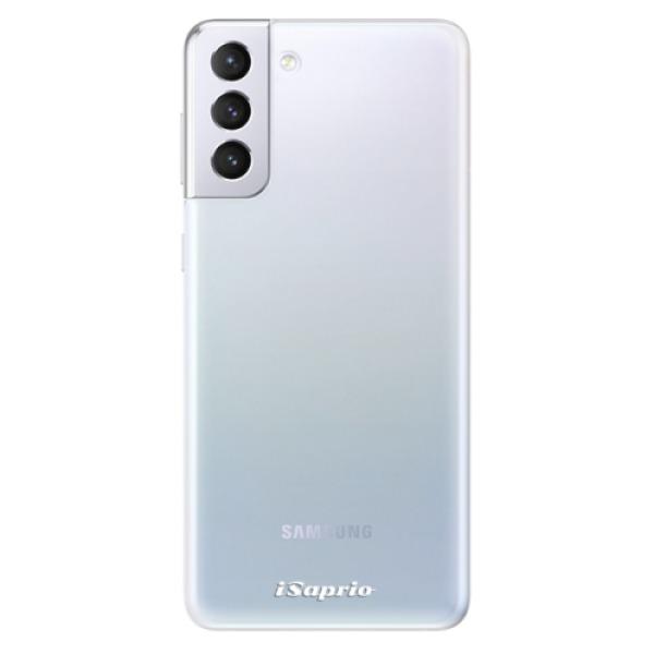 Odolné silikonové pouzdro iSaprio - 4Pure - mléčný bez potisku - Samsung Galaxy S21+