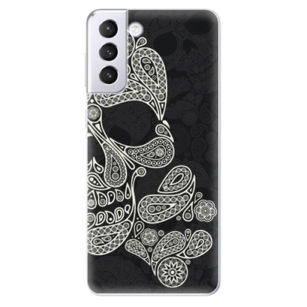 Odolné silikonové pouzdro iSaprio - Mayan Skull - Samsung Galaxy S21+
