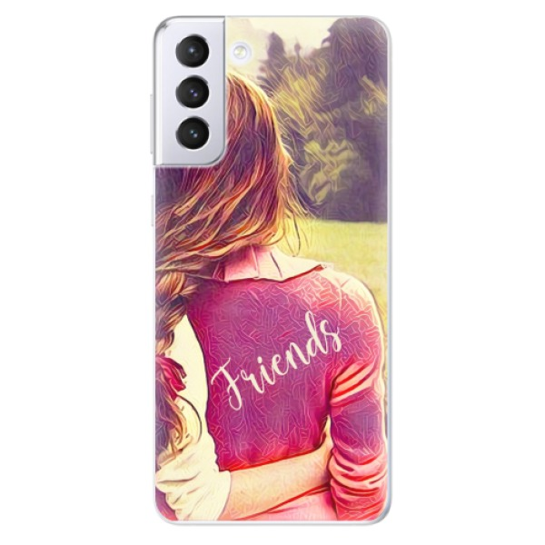Odolné silikonové pouzdro iSaprio - BF Friends - Samsung Galaxy S21+