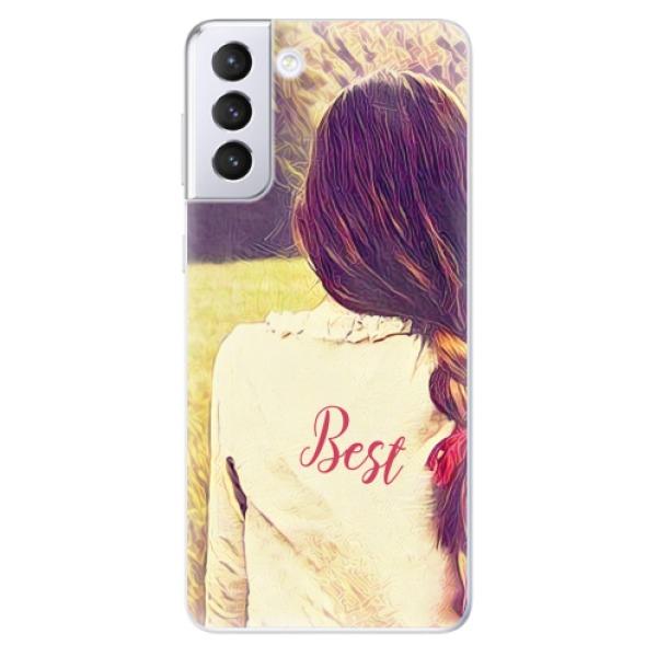 Odolné silikonové pouzdro iSaprio - BF Best - Samsung Galaxy S21+
