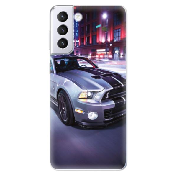 Odolné silikonové pouzdro iSaprio - Mustang - Samsung Galaxy S21+