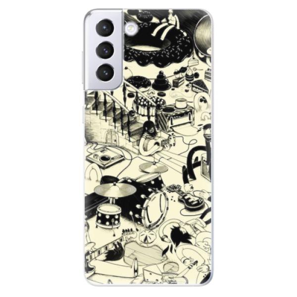 Odolné silikonové pouzdro iSaprio - Underground - Samsung Galaxy S21+