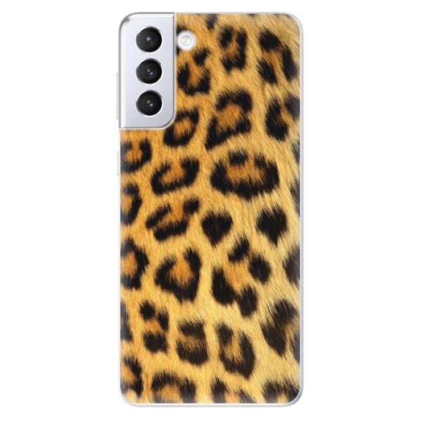 Odolné silikonové pouzdro iSaprio - Jaguar Skin - Samsung Galaxy S21+