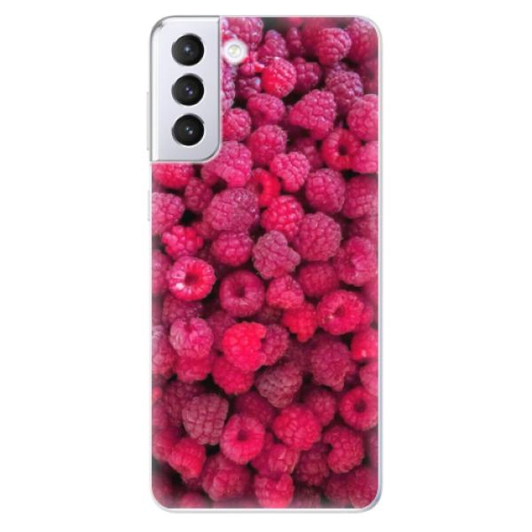 Odolné silikonové pouzdro iSaprio - Raspberry - Samsung Galaxy S21+
