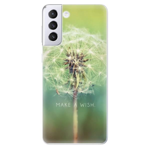 Odolné silikonové pouzdro iSaprio - Wish - Samsung Galaxy S21+