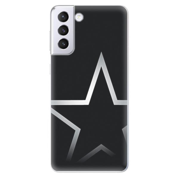 Odolné silikonové pouzdro iSaprio - Star - Samsung Galaxy S21+
