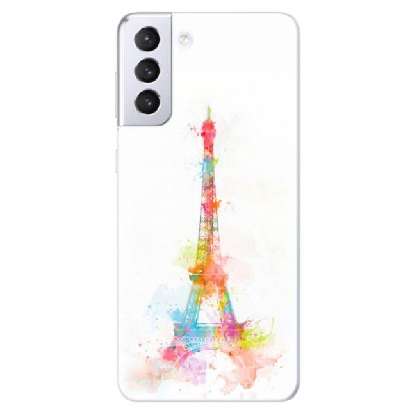 Odolné silikonové pouzdro iSaprio - Eiffel Tower - Samsung Galaxy S21+