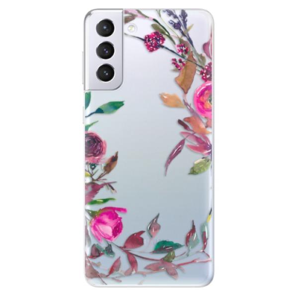 Odolné silikonové pouzdro iSaprio - Herbs 01 - Samsung Galaxy S21+