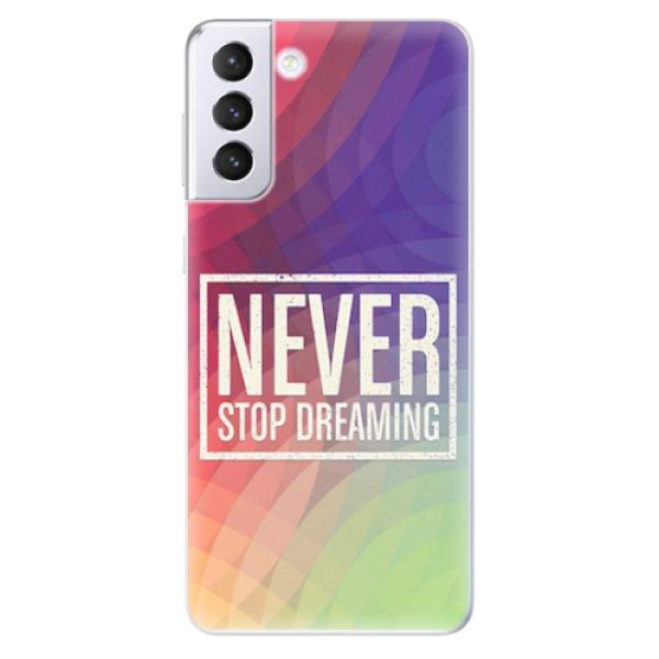 Odolné silikonové pouzdro iSaprio - Dreaming - Samsung Galaxy S21+