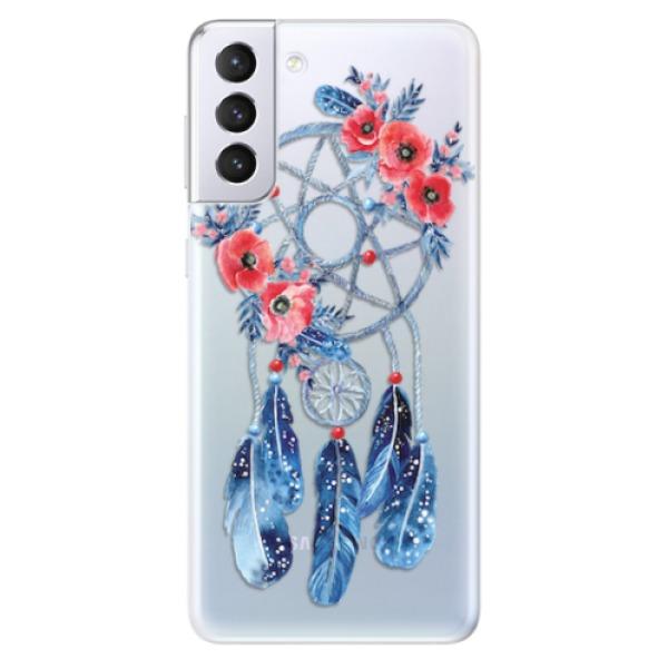 Odolné silikonové pouzdro iSaprio - Dreamcatcher 02 - Samsung Galaxy S21+