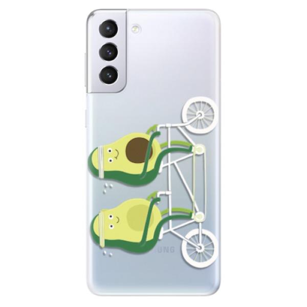 Odolné silikonové pouzdro iSaprio - Avocado - Samsung Galaxy S21+