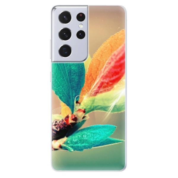 Odolné silikonové pouzdro iSaprio - Autumn 02 - Samsung Galaxy S21 Ultra
