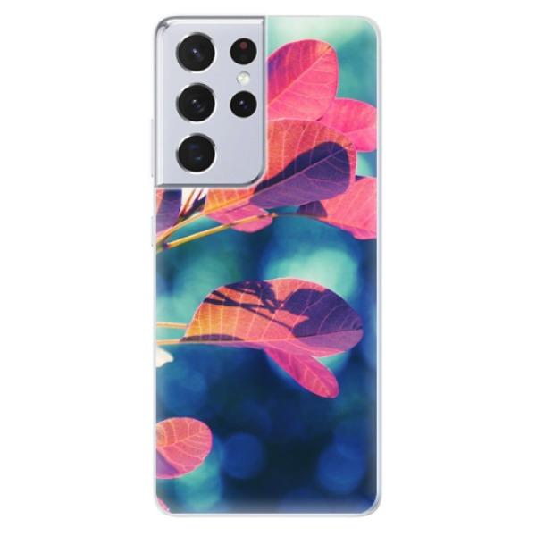 Odolné silikonové pouzdro iSaprio - Autumn 01 - Samsung Galaxy S21 Ultra